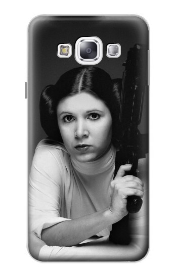 Printed Princess Leia Carrie Fisher Samsung Galaxy E5 Case