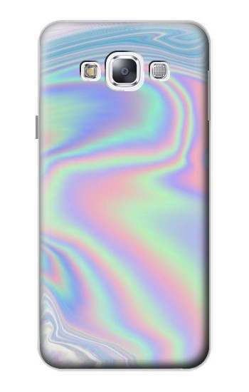 Printed Pastel Holographic Photo Printed Samsung Galaxy E5 Case