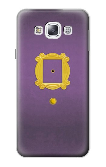 Printed Friends Purple Door Minimalist Samsung Galaxy E5 Case