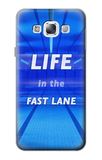 Printed Life in the Fast Lane Swimming Pool Samsung Galaxy E5 Case