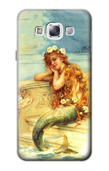 Printed Little Mermaid Painting Samsung Galaxy E5 Case