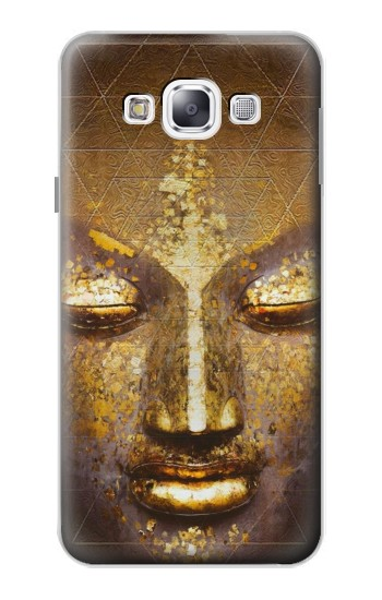 Printed Magical Yantra Buddha Face Samsung Galaxy E5 Case