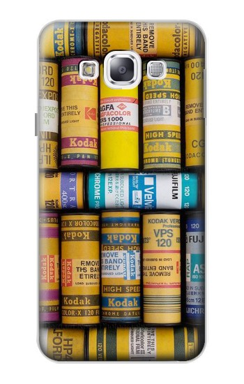 Printed MM Film Camera Samsung Galaxy E5 Case