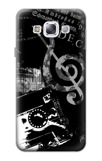 Printed Music Cassette Note Samsung Galaxy E5 Case
