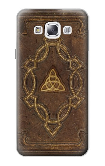 Printed Spell Book Cover Samsung Galaxy E5 Case