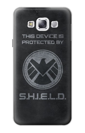 Printed This Device is Protected by Shield Samsung Galaxy E5 Case