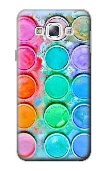 Printed Watercolor Mixing Samsung Galaxy E5 Case
