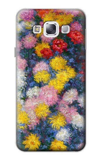 Printed Claude Monet Chrysanthemums Samsung Galaxy E5 Case