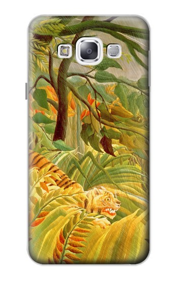 Printed Henri Rousseau Tiger in a Tropical Storm Samsung Galaxy E5 Case