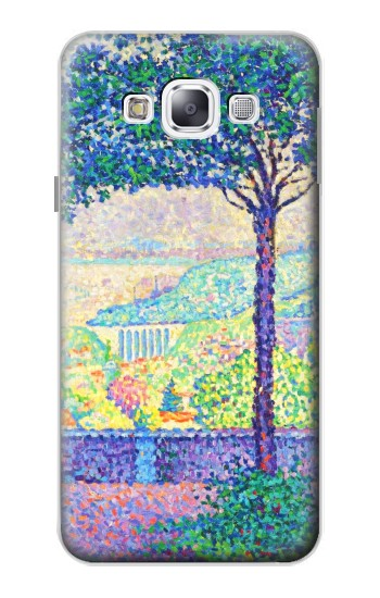 Printed Paul Signac Terrace of Meudon Samsung Galaxy E5 Case
