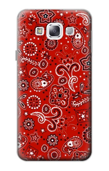 Printed Red Bandana Samsung Galaxy E5 Case