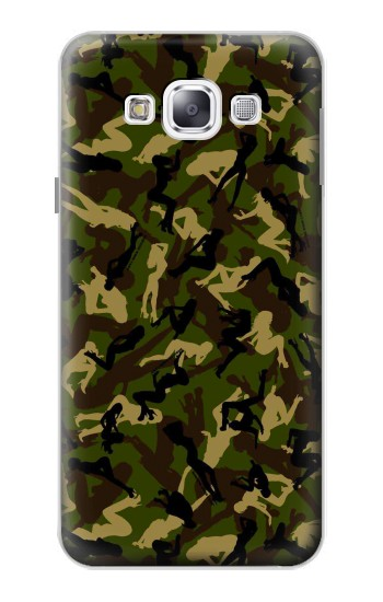 Printed Sexy Girls Camo Samsung Galaxy E5 Case