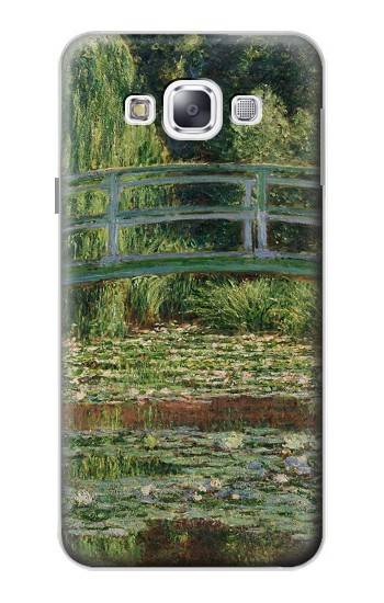 Printed Claude Monet Footbridge and Water Lily Pool Samsung Galaxy E5 Case