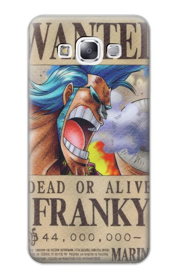 Printed One Piece FRANKY Wanted Poster Samsung Galaxy E7 Case