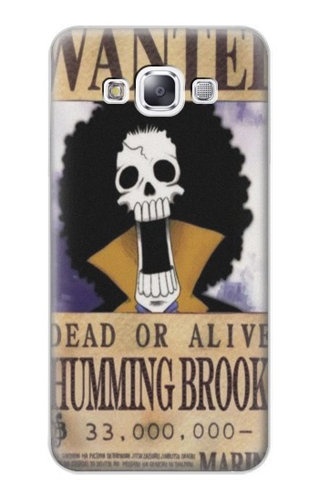 Printed One Piece Humming Brook Wanted Poster Samsung Galaxy E7 Case