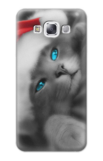 Printed Cute Cat Kitty Xmas Samsung Galaxy E7 Case
