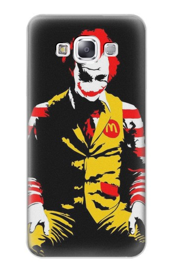 Printed Mc Donalds Joker Samsung Galaxy E7 Case