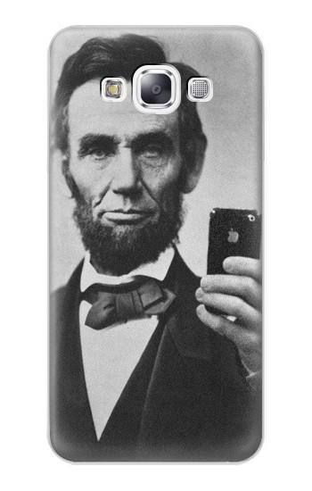 Printed Abraham Lincoln Samsung Galaxy E7 Case
