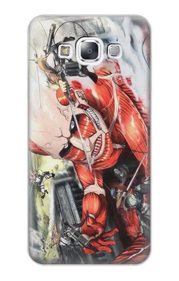 Printed Attack on Titan Samsung Galaxy E7 Case