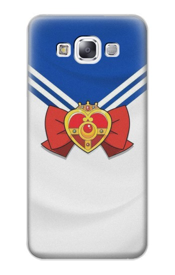 Printed Sailor Moon Brooch and Bow Samsung Galaxy E7 Case