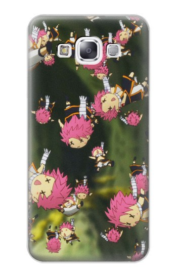 Printed Fairy Tail Little Natsu Fall Samsung Galaxy E7 Case