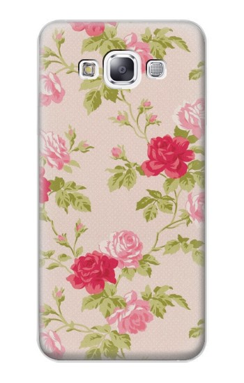 Printed Pretty Rose Cottage Flora Samsung Galaxy E7 Case
