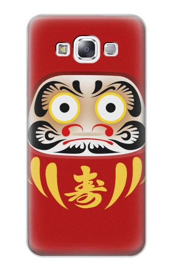 Printed Japan Bodhidharma Daruma Doll Samsung Galaxy E7 Case