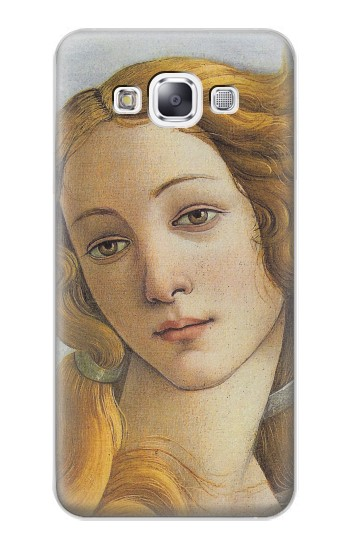 Printed Botticelli Birth of Venus Painting Samsung Galaxy E7 Case