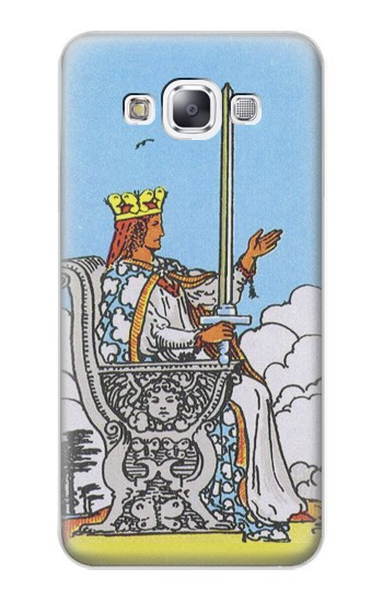 Printed Tarot Card Queen of Swords Samsung Galaxy E7 Case