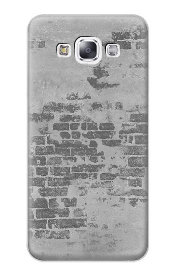 Printed Old Brick Wall Samsung Galaxy E7 Case