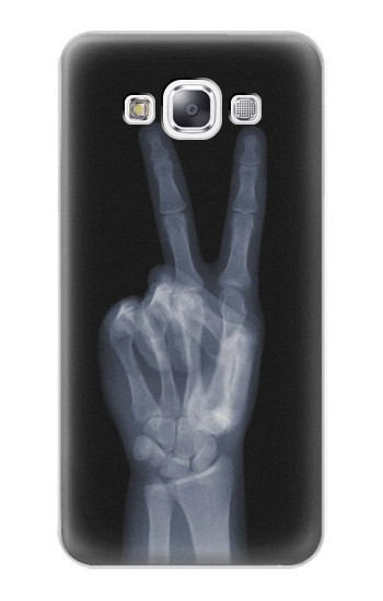 Printed X-ray Peace Finger Samsung Galaxy E7 Case