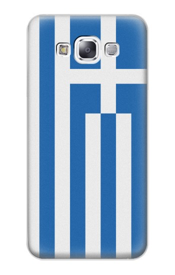 Printed Flag of Greece Samsung Galaxy E7 Case