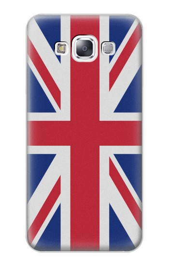 Printed Flag of The United Kingdom Samsung Galaxy E7 Case