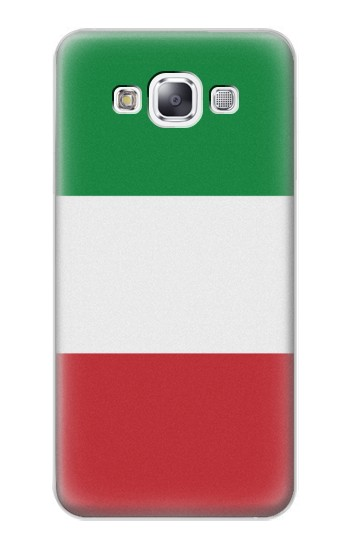 Printed Flag of Italy and Mexico Samsung Galaxy E7 Case