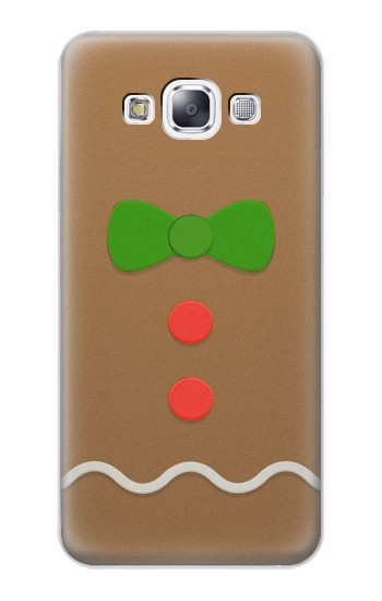 Printed Gingerbread Man Samsung Galaxy E7 Case