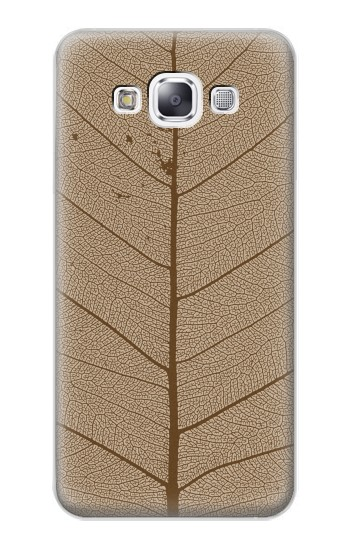 Printed Skeleton Leaf Printed Samsung Galaxy E7 Case