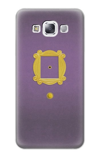 Printed Friends Purple Door Minimalist Samsung Galaxy E7 Case