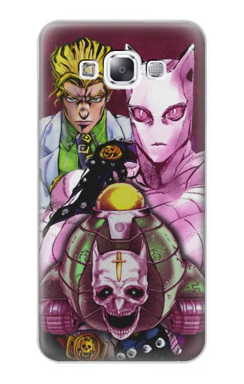 Printed Jojo Bizarre Adventure Kira Yoshikage Killer Queen Samsung Galaxy E7 Case