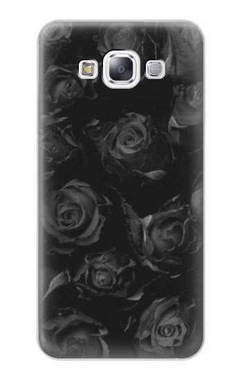 Printed Black Roses Samsung Galaxy E7 Case