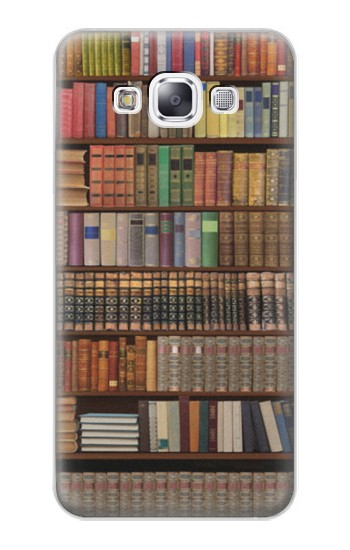 Printed Bookshelf Samsung Galaxy E7 Case