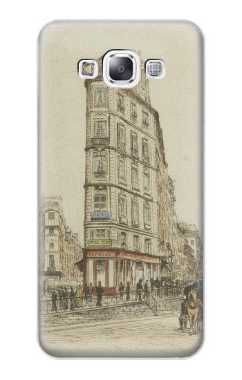 Printed Boulevards of Paris Samsung Galaxy E7 Case