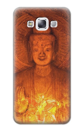 Printed Buddha Spiritual Holy Lights Samsung Galaxy E7 Case
