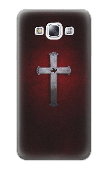 Printed Christian Cross Samsung Galaxy E7 Case