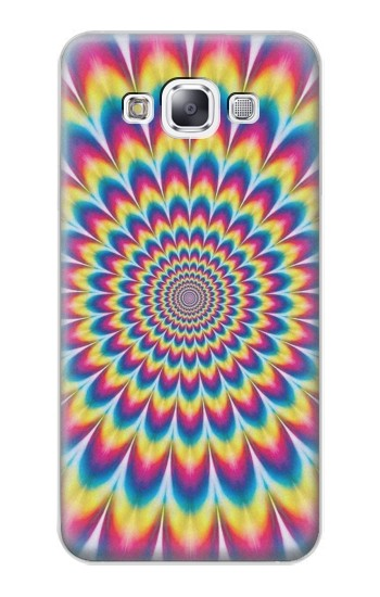 Printed Colorful Psychedelic Samsung Galaxy E7 Case