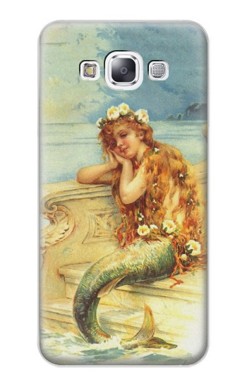 Printed Little Mermaid Painting Samsung Galaxy E7 Case