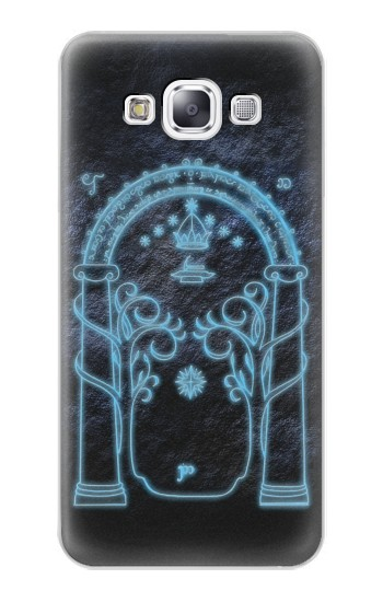 Printed Lord of The Rings Mines of Moria Gate Samsung Galaxy E7 Case