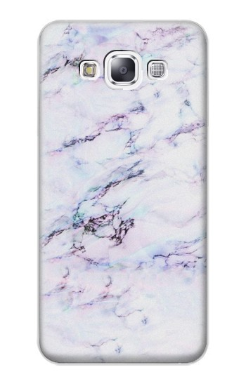 Printed Seamless Pink Marble Samsung Galaxy E7 Case