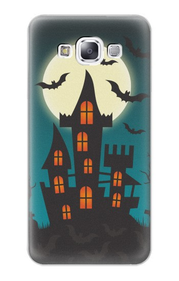 Printed Halloween Festival Castle Samsung Galaxy E7 Case