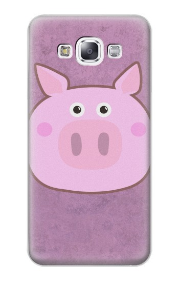 Printed Pig Cartoon Samsung Galaxy E7 Case