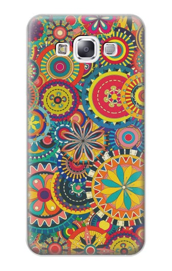 Printed Colorful Pattern Samsung Galaxy E7 Case